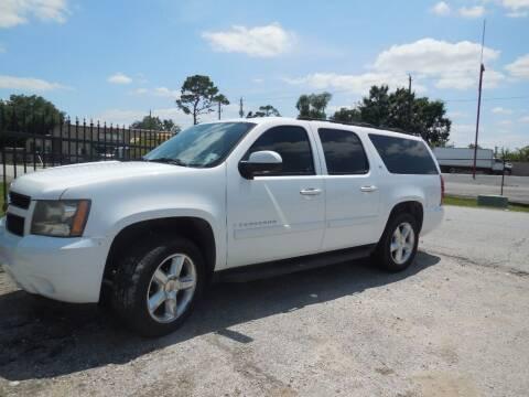 2007 Chevrolet Suburban for sale at SCOTT HARRISON MOTOR CO in Houston TX