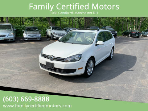 2012 Volkswagen Jetta for sale at Family Certified Motors in Manchester NH