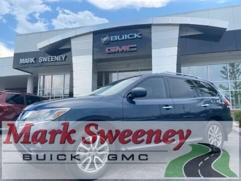 2013 Nissan Pathfinder for sale at Mark Sweeney Buick GMC in Cincinnati OH