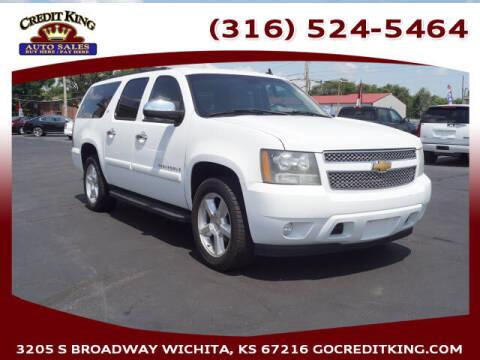 2007 Chevrolet Suburban for sale at Credit King Auto Sales in Wichita KS