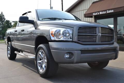 2007 Dodge Ram Pickup 1500 for sale at Nick's Motor Sales LLC in Kalkaska MI