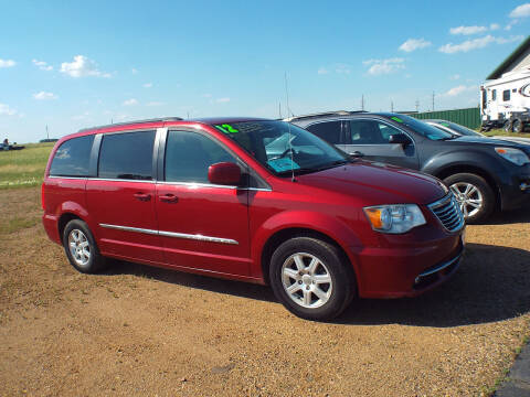2012 Chrysler Town and Country for sale at G & K Supreme in Canton SD