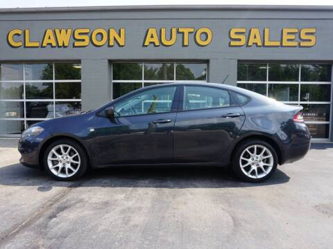 2013 Dodge Dart for sale at Clawson Auto Sales in Clawson MI