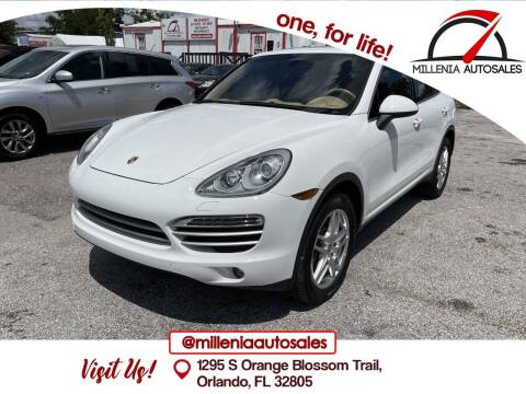 2014 Porsche Cayenne for sale at Millenia Auto Sales in Orlando FL