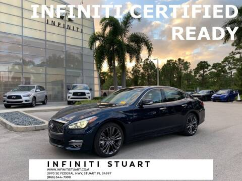 2017 Infiniti Q70 for sale at Infiniti Stuart in Stuart FL