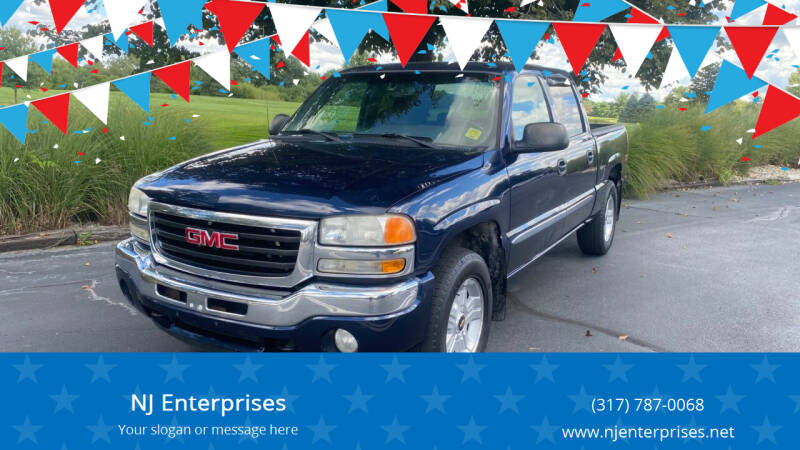 2006 GMC Sierra 1500 for sale at NJ Enterprises in Indianapolis IN