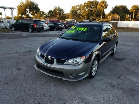 2006 Subaru Impreza for sale at GOLDEN GATE AUTOMOTIVE,LLC in Zephyrhills FL