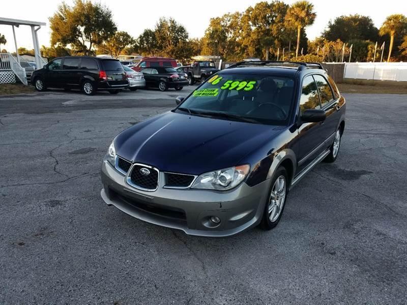 2006 Subaru Impreza for sale at GOLDEN GATE AUTOMOTIVE,LLC in Zephyrhills FL