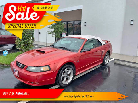 2001 Ford Mustang for sale at Bay City Autosales in Tampa FL