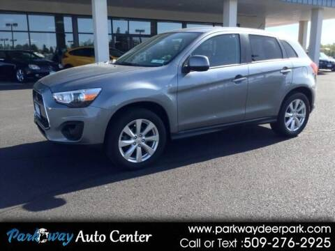 2014 Mitsubishi Outlander Sport for sale at PARKWAY AUTO CENTER AND RV in Deer Park WA