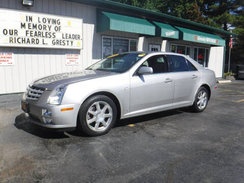 2006 Cadillac STS for sale at GRESTY AUTO SALES in Loves Park IL