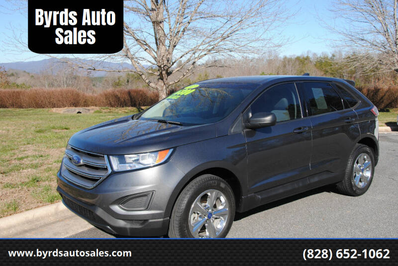 2017 Ford Edge for sale at Byrds Auto Sales in Marion NC