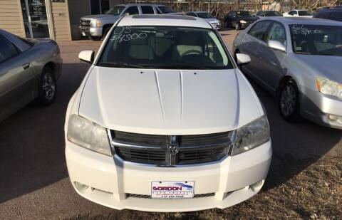2008 Dodge Avenger for sale at Gordon Auto Sales LLC in Sioux City IA