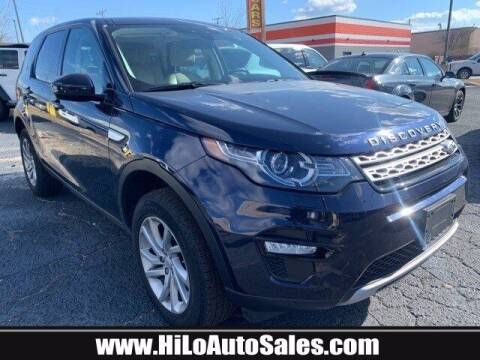 2016 Land Rover Discovery Sport for sale at Hi-Lo Auto Sales in Frederick MD
