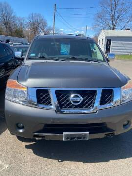 2009 Nissan Armada for sale at Whiting Motors in Plainville CT