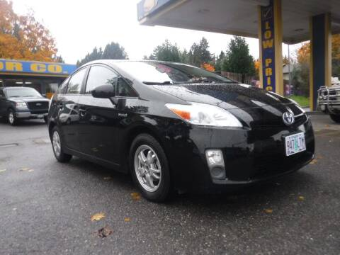 2010 Toyota Prius for sale at Brooks Motor Company, Inc in Milwaukie OR