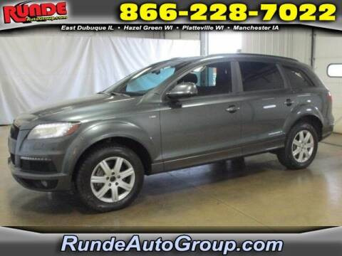 2012 Audi Q7 for sale at Runde Chevrolet in East Dubuque IL