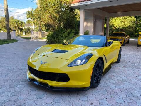 2019 Chevrolet Corvette for sale at TRUCKS UNLIMITED WHOLESALERS in Medley FL