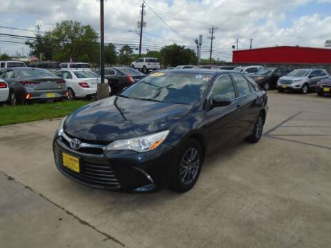 2015 Toyota Camry for sale at BAS MOTORS in Houston TX
