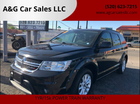2017 Dodge Journey for sale at A&G Car Sales  LLC in Tucson AZ