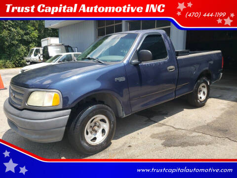 2002 Ford F-150 for sale at Trust Capital Automotive Inc. in Covington GA