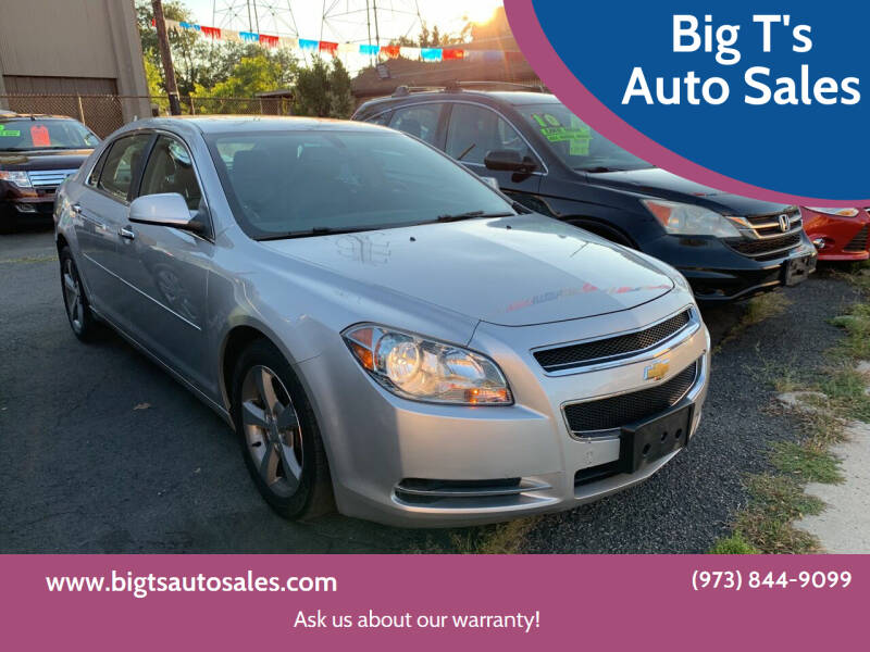 2012 Chevrolet Malibu for sale at Big T's Auto Sales in Belleville NJ
