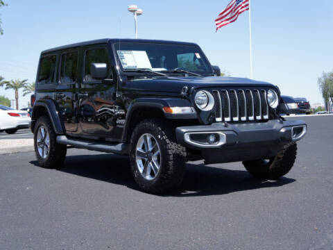 2019 Jeep Wrangler Unlimited for sale at CarFinancer.com in Peoria AZ