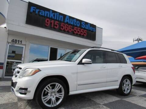 2013 Mercedes-Benz GLK for sale at Franklin Auto Sales in El Paso TX