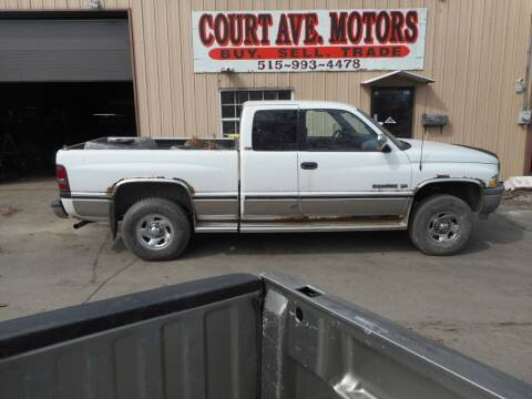 1997 Dodge Ram Pickup 1500 for sale at Court Avenue Motors in Adel IA