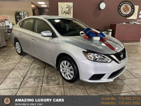 2019 Nissan Sentra for sale at Amazing Luxury Cars in Snellville GA