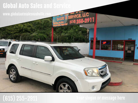 2011 Honda Pilot for sale at Global Auto Sales and Service in Nashville TN