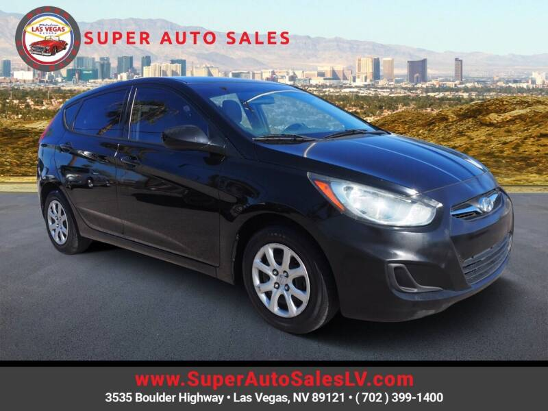 2013 Hyundai Accent for sale at Super Auto Sales in Las Vegas NV