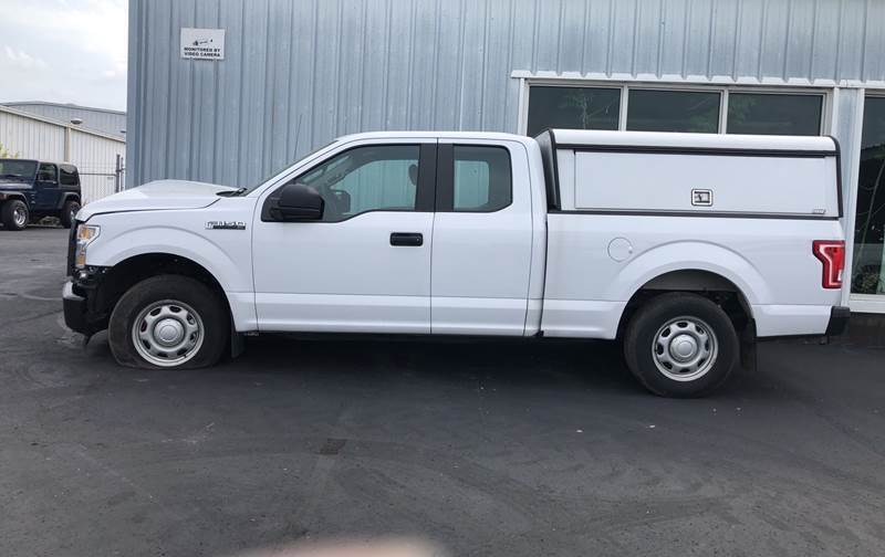 2017 Ford F-150 for sale at B & W Auto in Campbellsville KY
