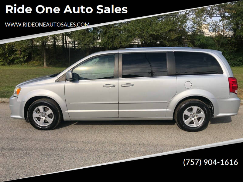 2011 Dodge Grand Caravan for sale at Ride One Auto Sales in Norfolk VA