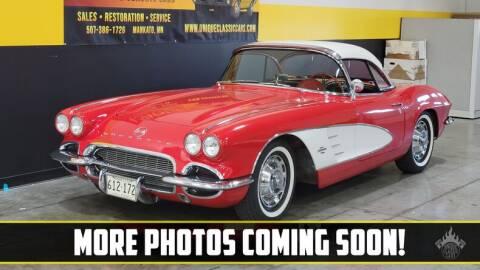 1961 Chevrolet Corvette for sale at UNIQUE SPECIALTY & CLASSICS in Mankato MN