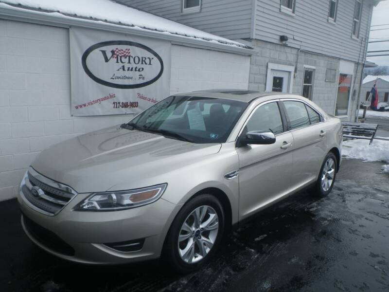 2010 Ford Taurus for sale at VICTORY AUTO in Lewistown PA