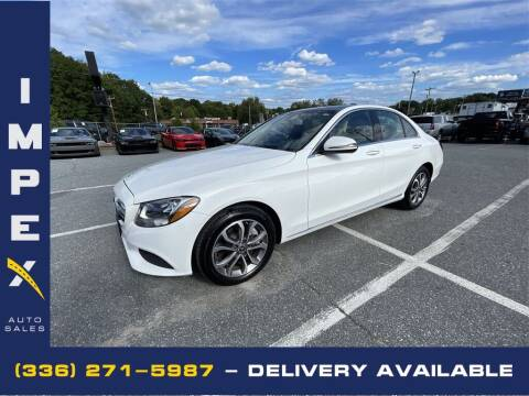 2017 Mercedes-Benz C-Class for sale at Impex Auto Sales in Greensboro NC