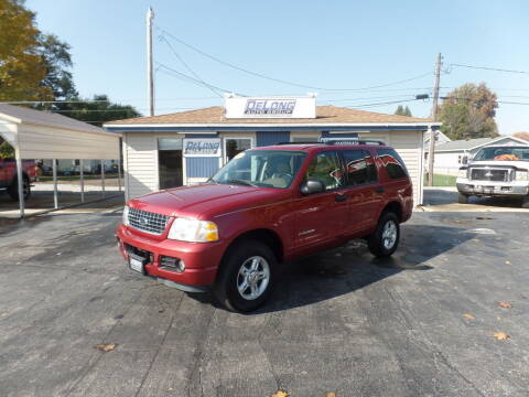 2004 Ford Explorer for sale at DeLong Auto Group in Tipton IN