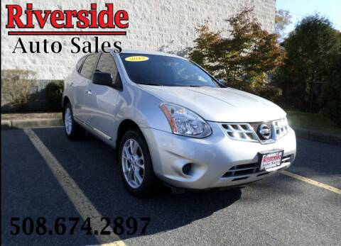 2013 Nissan Rogue for sale at RIVERSIDE AUTO SALES INC in Somerset MA