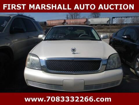 2003 Cadillac DeVille for sale at First Marshall Auto Auction in Harvey IL