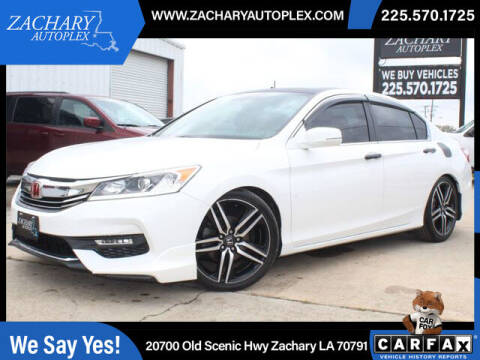 2017 Honda Accord for sale at Auto Group South in Natchez MS