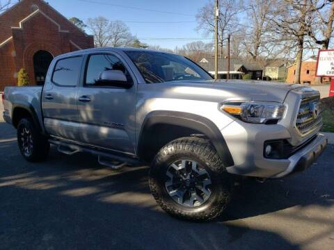 2016 Toyota Tacoma for sale at McAdenville Motors in Gastonia NC