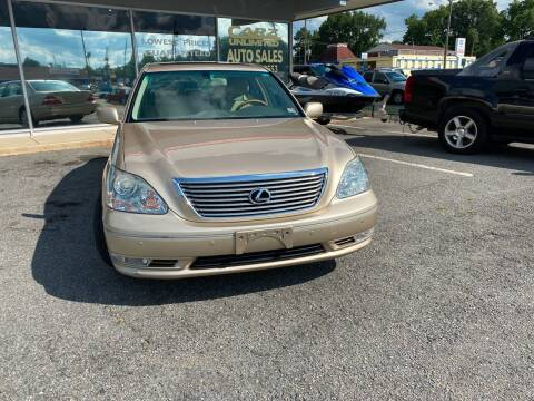 2004 Lexus LS 430 for sale at Carz Unlimited in Richmond VA