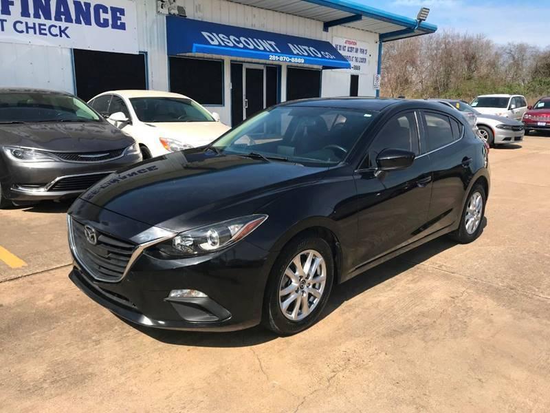 2014 Mazda MAZDA3 for sale at Discount Auto Company in Houston TX