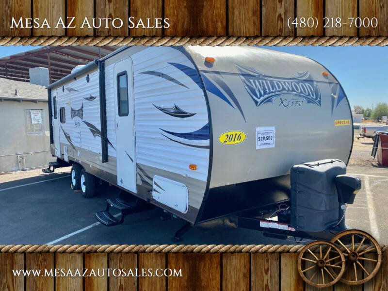 2016 Forest River Wildwood for sale at Mesa AZ Auto Sales in Apache Junction AZ