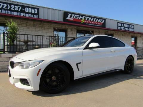 2014 BMW 4 Series for sale at Lightning Motorsports in Grand Prairie TX