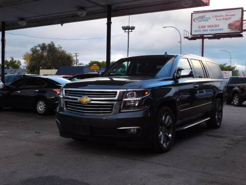 2015 Chevrolet Suburban for sale at INFINITE AUTO LLC in Lakewood CO