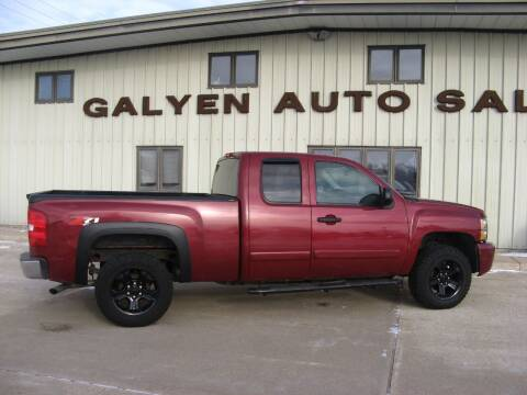 2007 Chevrolet Silverado 1500 for sale at Galyen Auto Sales Inc. in Atkinson NE