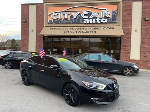 2018 Nissan Maxima for sale at CITY CAR AUTO INC in Nashville TN