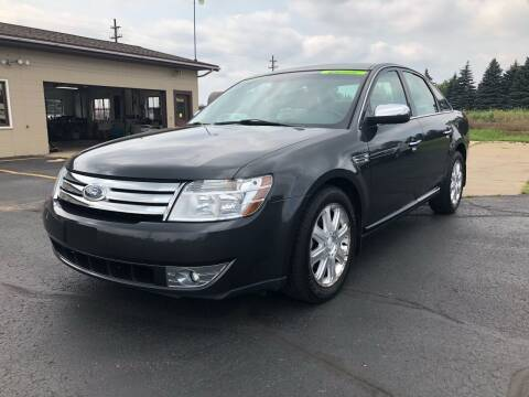2008 Ford Taurus for sale at Mike's Budget Auto Sales in Cadillac MI